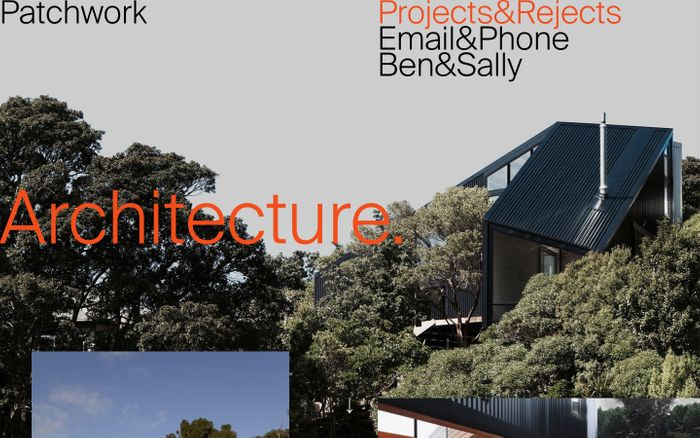 Screenshot of Patchwork Architecture. — Architects, New Builds and Renovations for Wellington and Whanganui