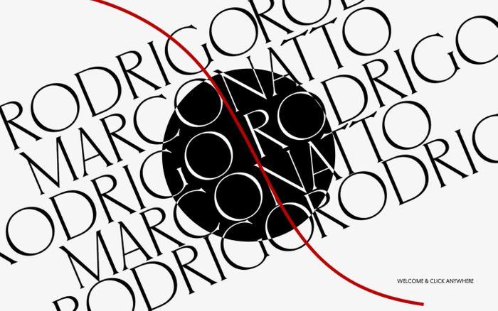 Screenshot of Welcome | Rodrigo Marconatto