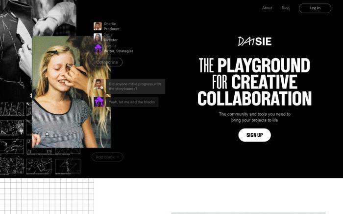 Screenshot of  Daisie