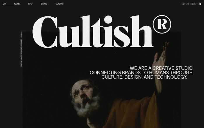 Screenshot of CULTISH®