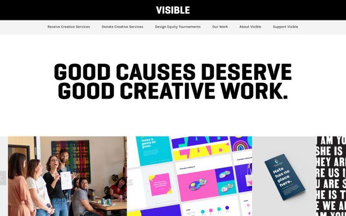 Screenshot of VISIBLE