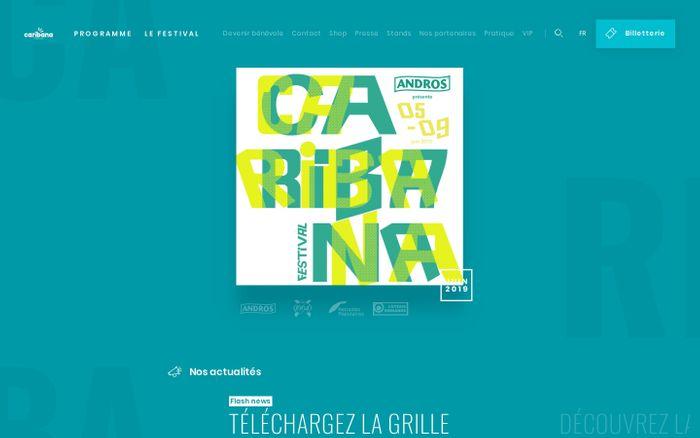 Screenshot of Caribana Festival