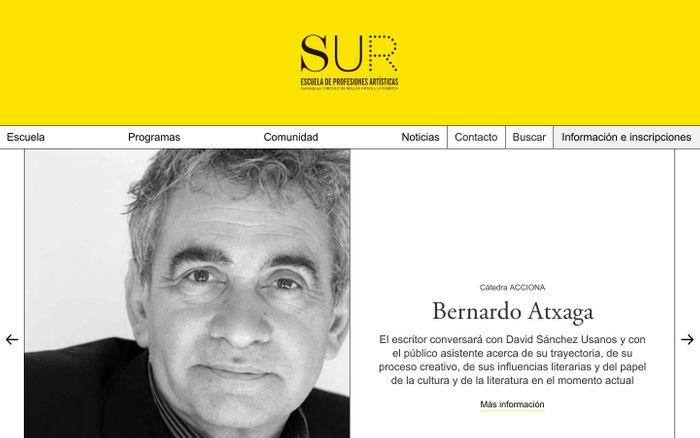 Screenshot of Escuela Sur
