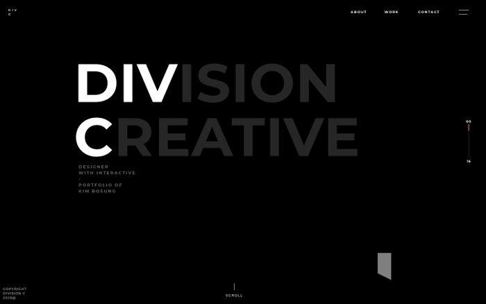 Screenshot of DIV-C