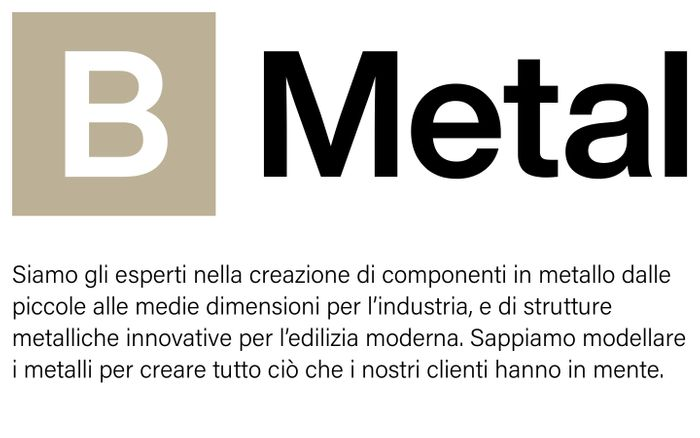 Screenshot of B-Metal - Carpenteria e taglio laser a Rimini