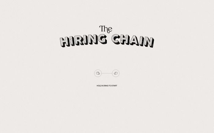 Screenshot of The hiring chain