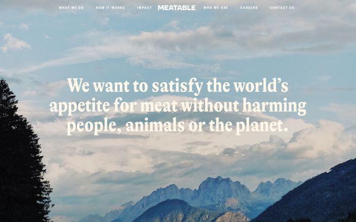 Screenshot of Meatable