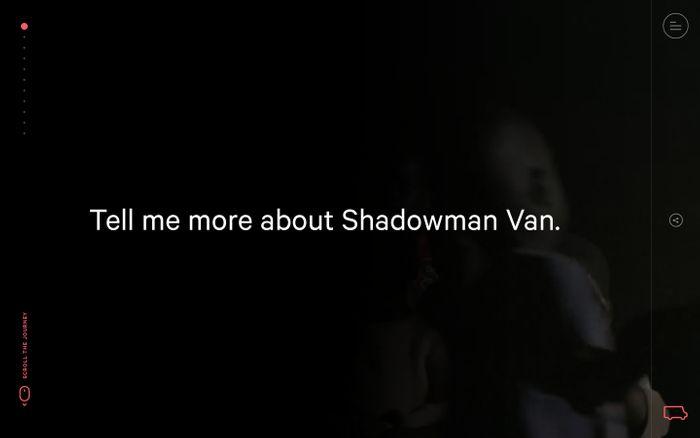 Screenshot of Shadowman Van