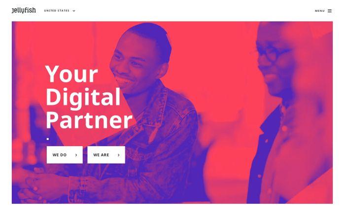Screenshot of Jellyfish | Your Digital Partner in the US