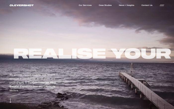 Screenshot of Clevershot website