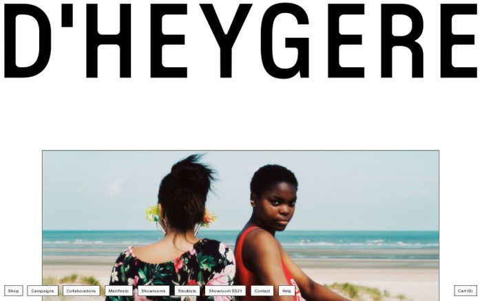 Screenshot of D'heygere