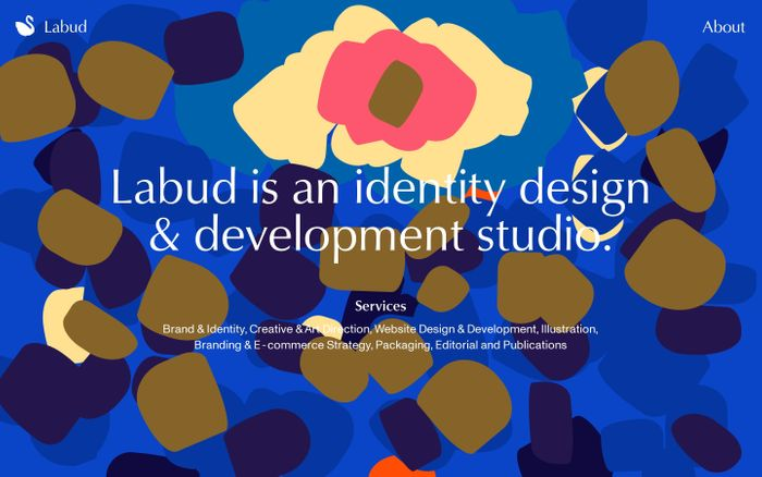Screenshot of Labud | Design Studio in New York City