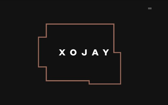 Screenshot of XOJAY — Beautifully Designed Spaces & Complete Living Concepts