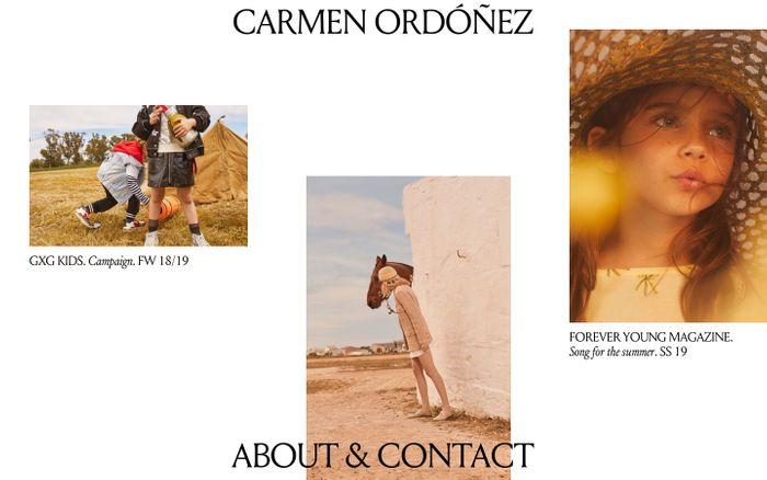 Screenshot of Carmen Ordóñez – Photographer based in Spain