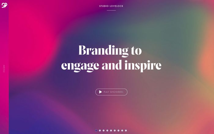 Screenshot of Studio Lovelock - Branding designed to engage and inspire
