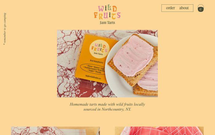 Screenshot of Wild Fruits