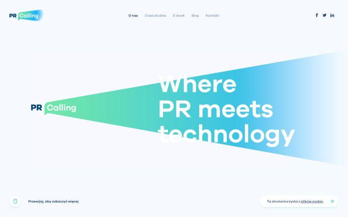 Screenshot of PR Calling