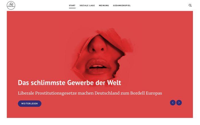 Screenshot of Start - Die soziale Lage | Wir diskutieren Sozialpolitik