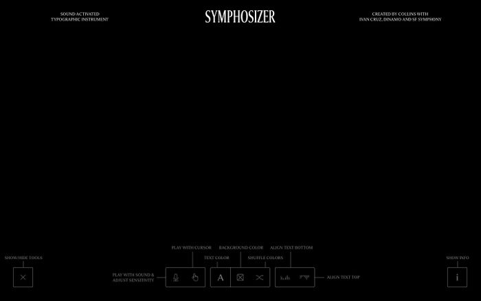 Screenshot of Symphosizer