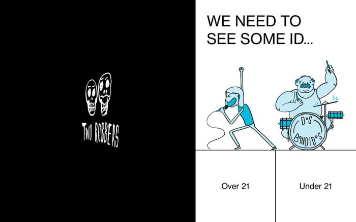 Screenshot of TWO ROBBERS