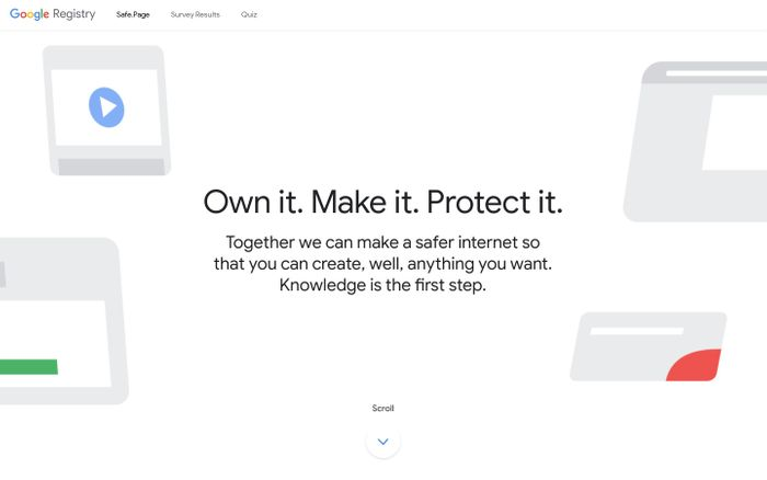 Screenshot of Safe.Page