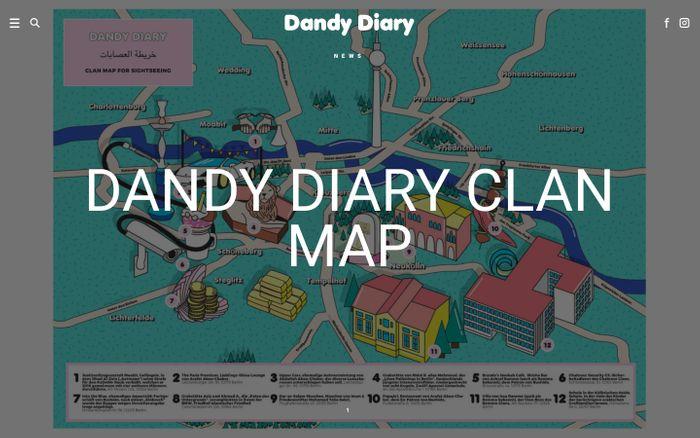 Screenshot of Dandy Diary | Men´s Fashion Blog
