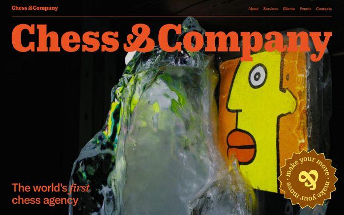 Screenshot of Chess & Company website