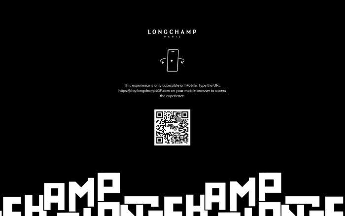 Screenshot of Longchamp LGP