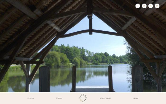 Screenshot of Dragonfly | Une invitation à la découverte de l'Art de Vie