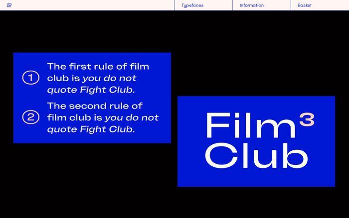 Screenshot of Polytype website