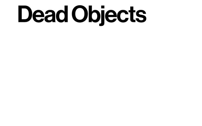 Screenshot of Dead Objects