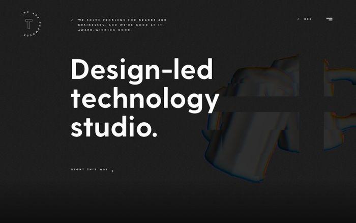 Screenshot of TEAMGEEK — Brand Creators | Product Makers | Market Activators