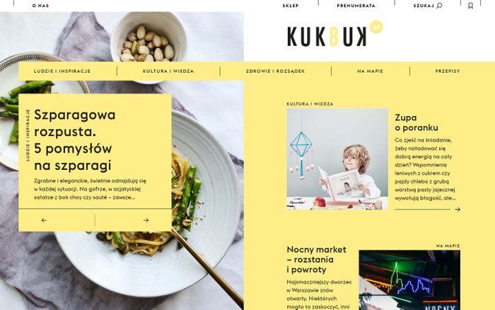 Screenshot of Strona główna - KUKBUK.pl