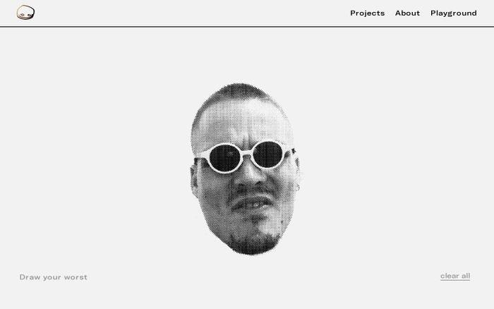 Screenshot of Lewis Atkins – Portfolio