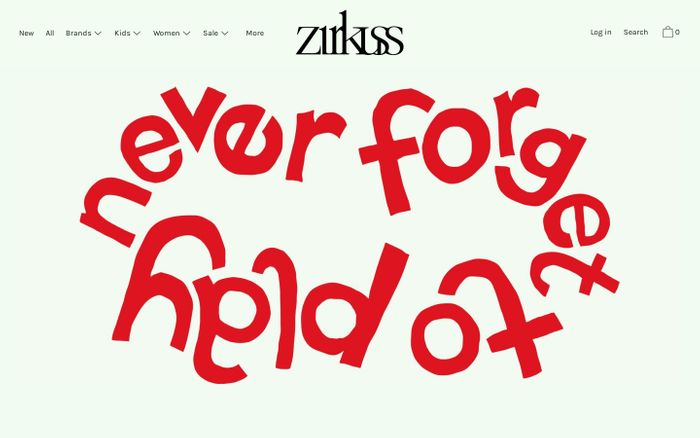 Screenshot of Zirkuss - Love Kids Love - For kids from 0 to 16 years and women
