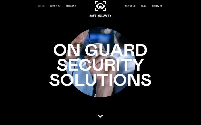Screenshot of Safe Security – Leading provider of bespoke security solutions