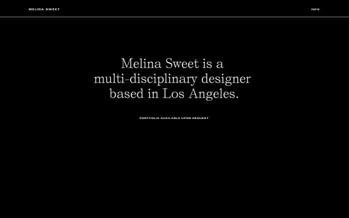 Screenshot of Melina Sweet