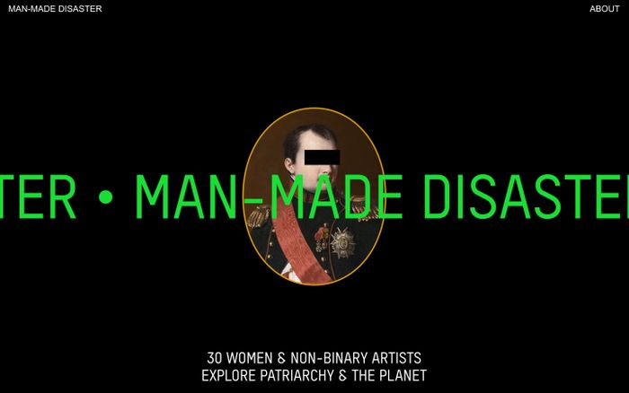 Screenshot of MAN-MADE DISASTER