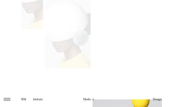 Screenshot of Home Page - RM Moda e Design | RM Moda e Design