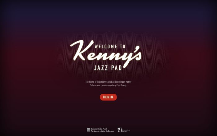 Screenshot of Kenny's Jazz Pad