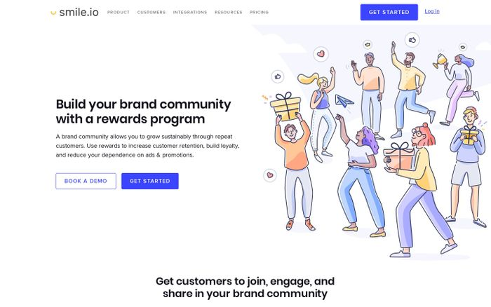 Screenshot of Reward Programs for eCommerce Community Building