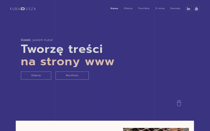 Screenshot of Kuba Dusza