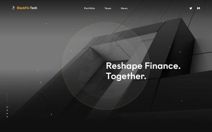 Screenshot of BlackFin Tech website