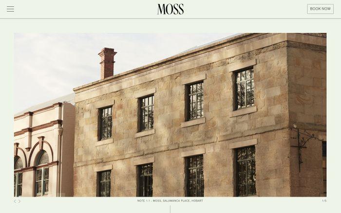Screenshot of  Moss Hotel