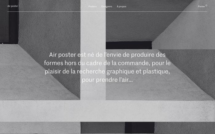 Screenshot of Air poster