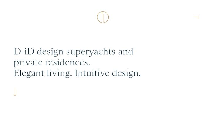 Screenshot of Super Yacht Design Studio-Luxury Residential Design | D-iD | D-ID website