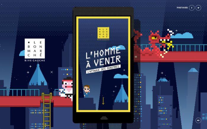 Screenshot of Vu au Bon Marché : L'Homme à venir, le jeu !