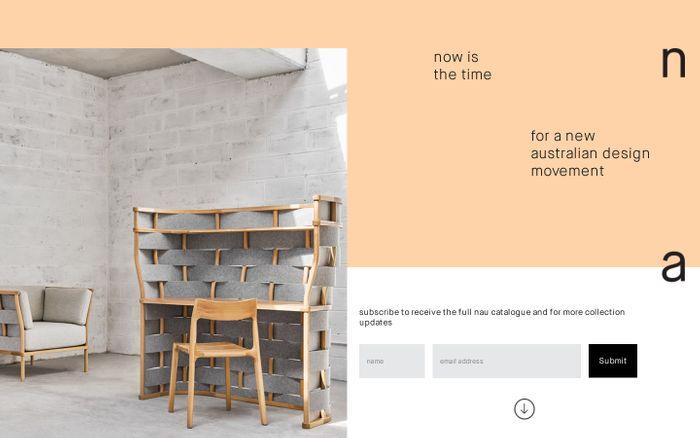 Screenshot of  NauDesign