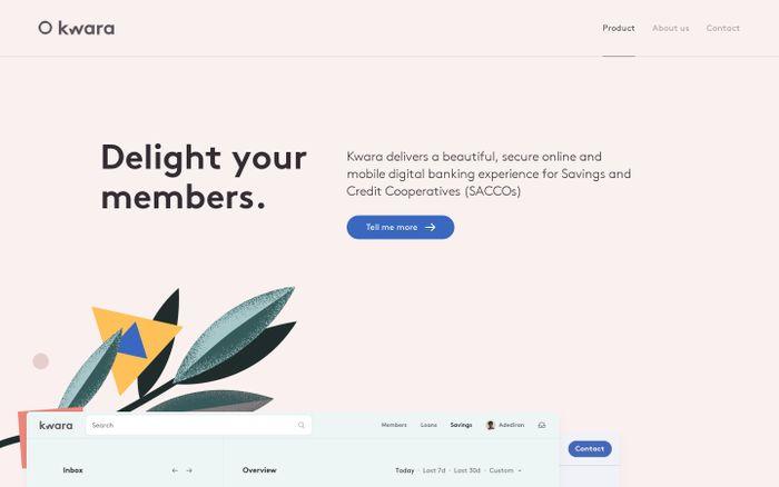 Screenshot of kwara website