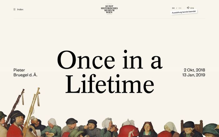 Screenshot of Bruegel - Once In A Lifetime